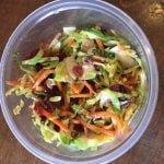 Springtime & brussels sprout salad